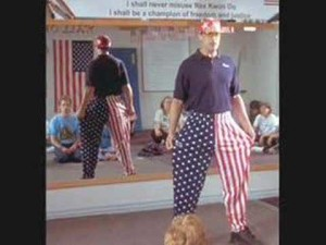 rex kwon do bow to sensei napolean dynamite