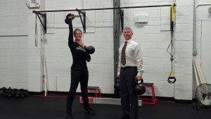 Kettlebell workouts are ideal for busy professionals to get fit and stay on top of their game!