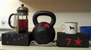 coffee and kettlebells to get you going