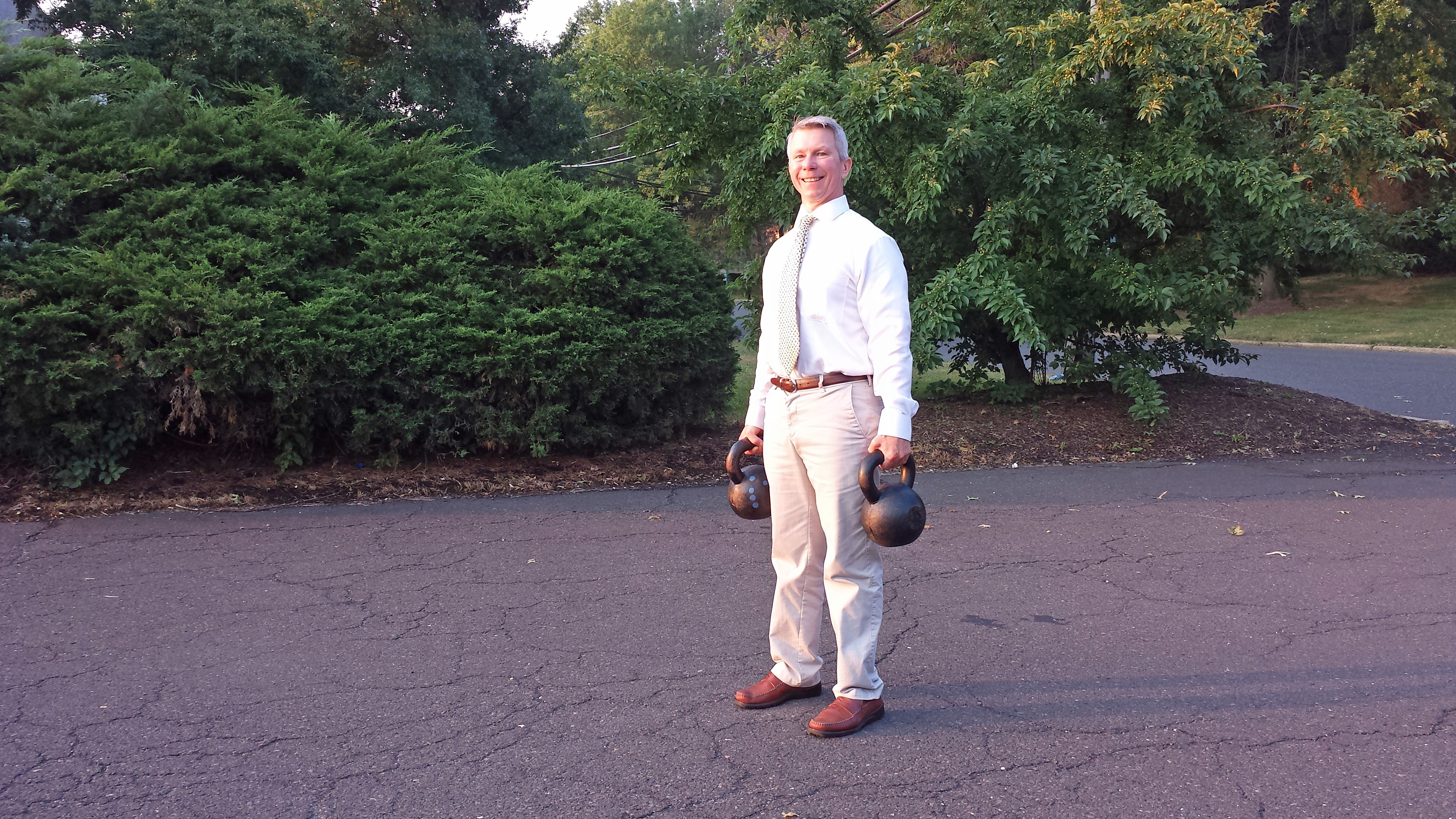 mark mellohusky farmers walk kettlebell workout fitness for busy professionals seven stars fitness