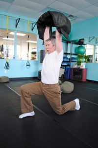 mark mellohusky seven stars fitness sandbag workout