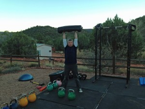 mark mellohusky seven stars sandbag kettlebell bodyweight combo training