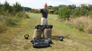 mark mellohusky seven stars sandbag training kettlebell training