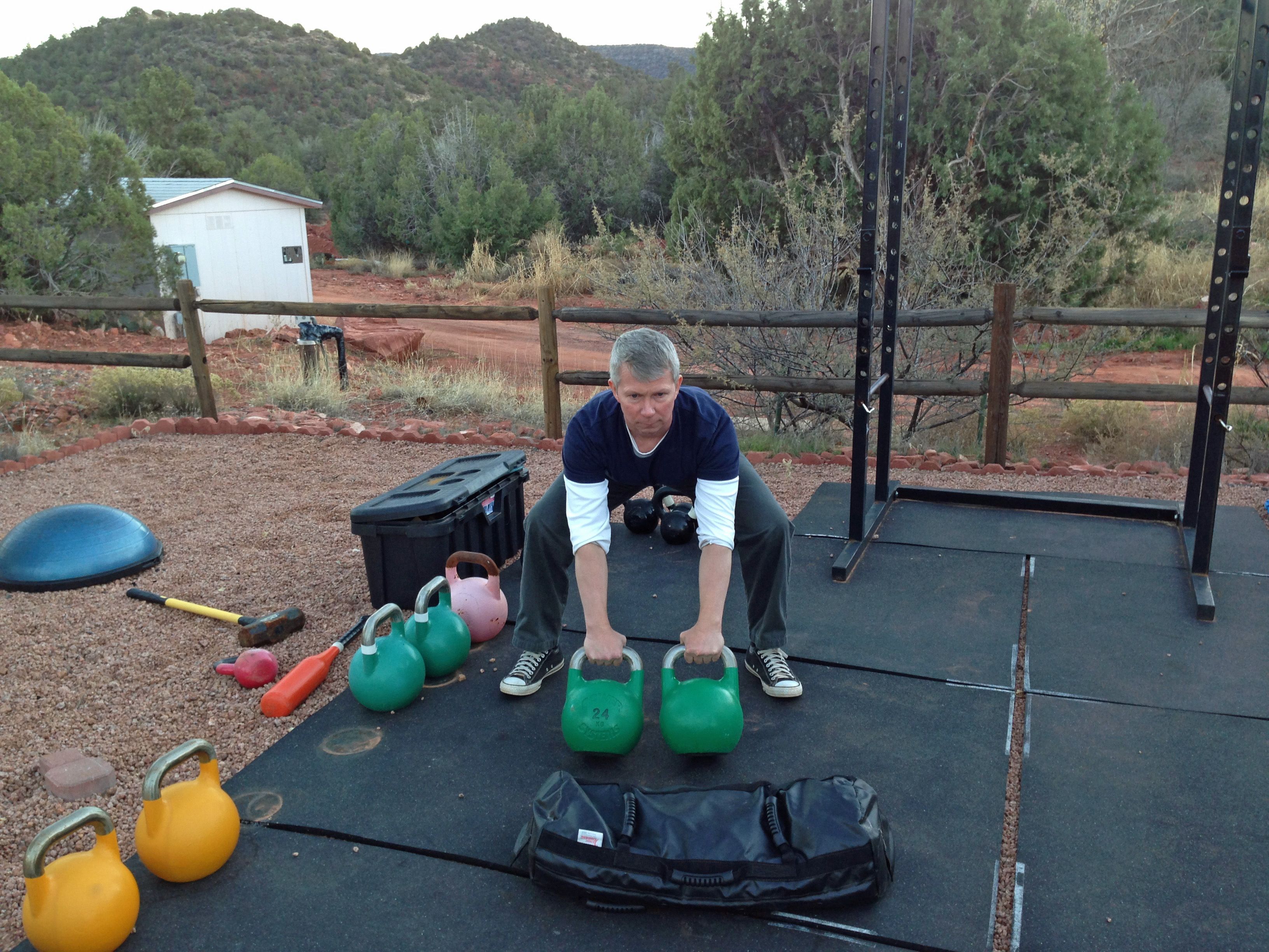 mark mellohusky arizona state sedona kettlebell workout seven stars fitness