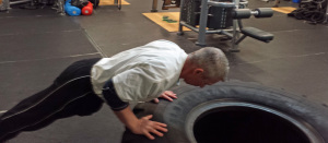 Do Elevated push ups if standard ones are too difficult