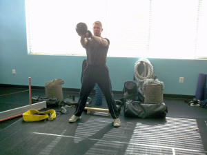 Kettlebell swings thoughtfully performed in your training session yield huge fitness dividends!