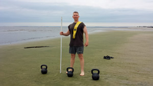 Kettlebell Sand Drag Sprints For Maximum Fitness
