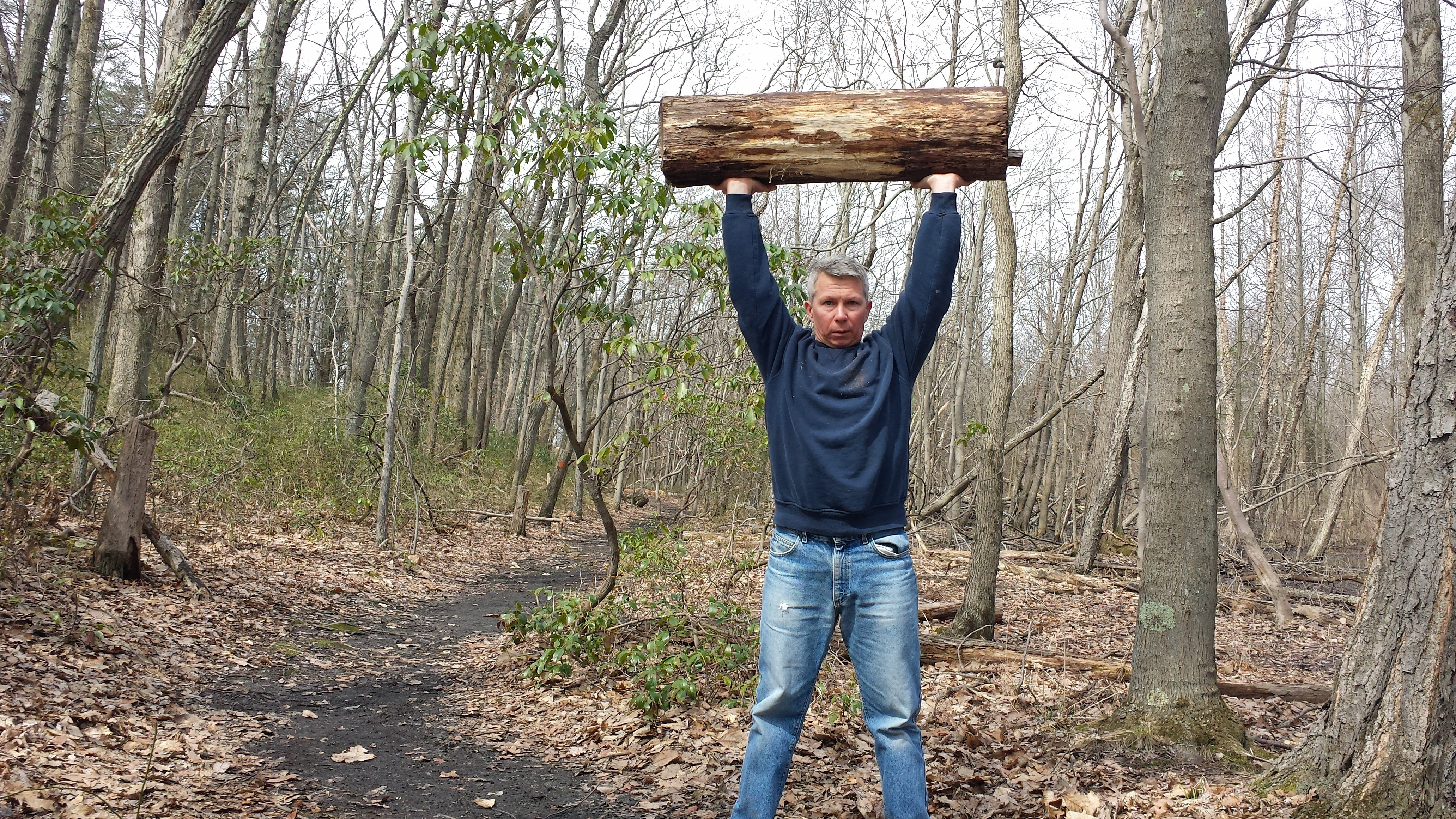 The common log is a great fitness tool!