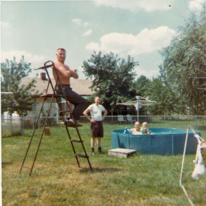 Uncle Elmer lifeguard and strong man