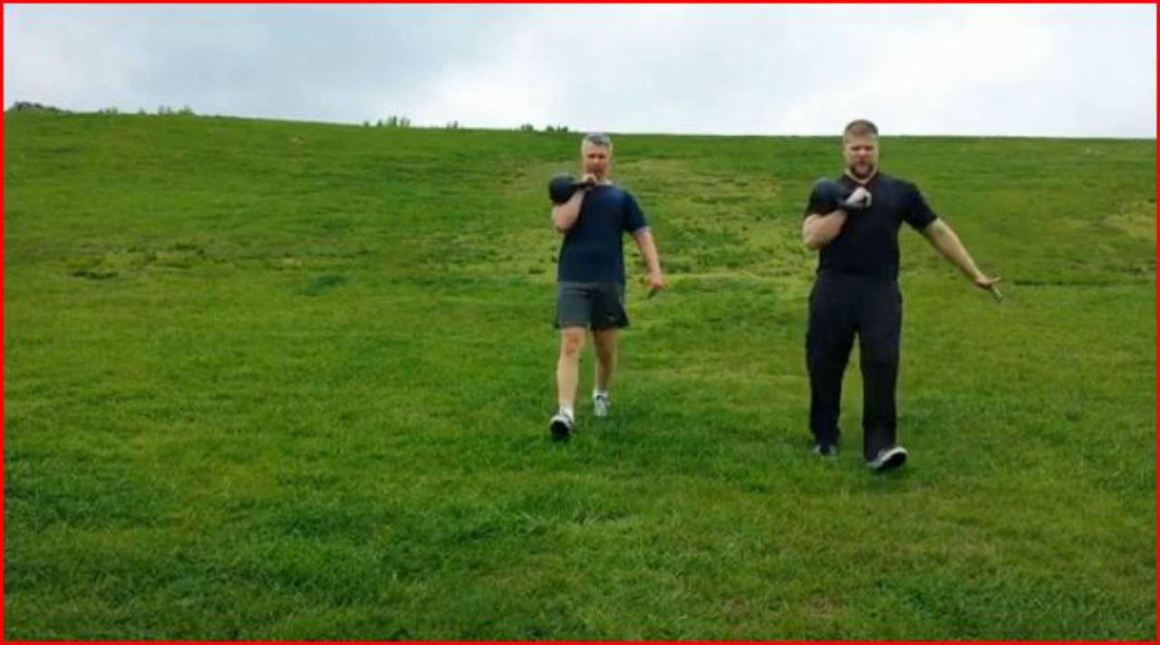 kettlebell workout mark mellohusky moses correa hill carries seven stars fitness outdoor workout