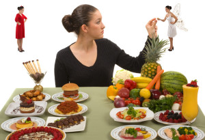 fight the urge to eat unhealthy foods