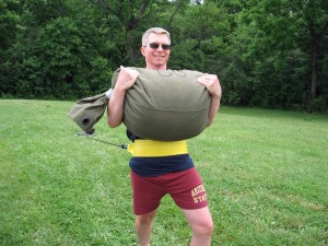 Sandbag And Body Weight Workout To Forge That Ideal Body
