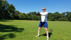 mark mellohusky kettlebell swing tutorial outdoor workout seven stars fitness